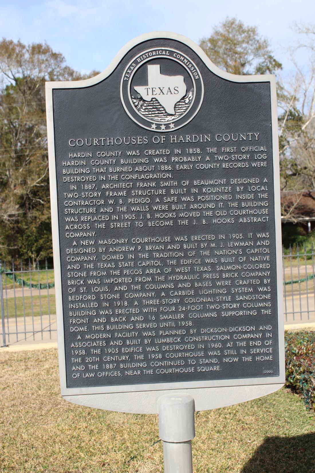 Hardin County History