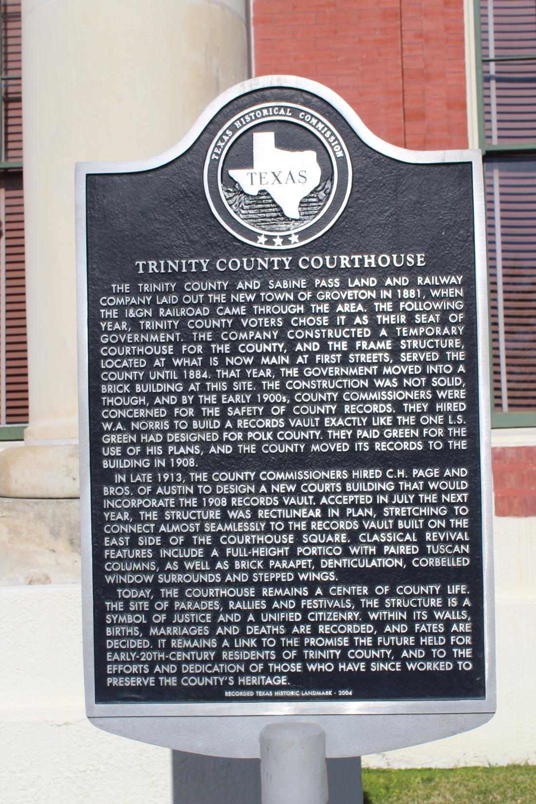 Trinity County History