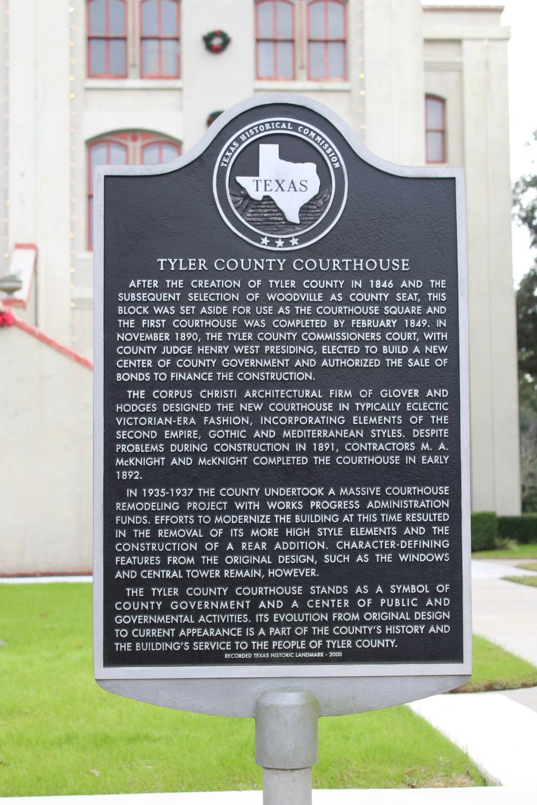 Tyler County History