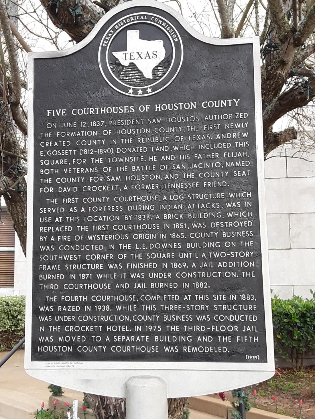 Houston County History