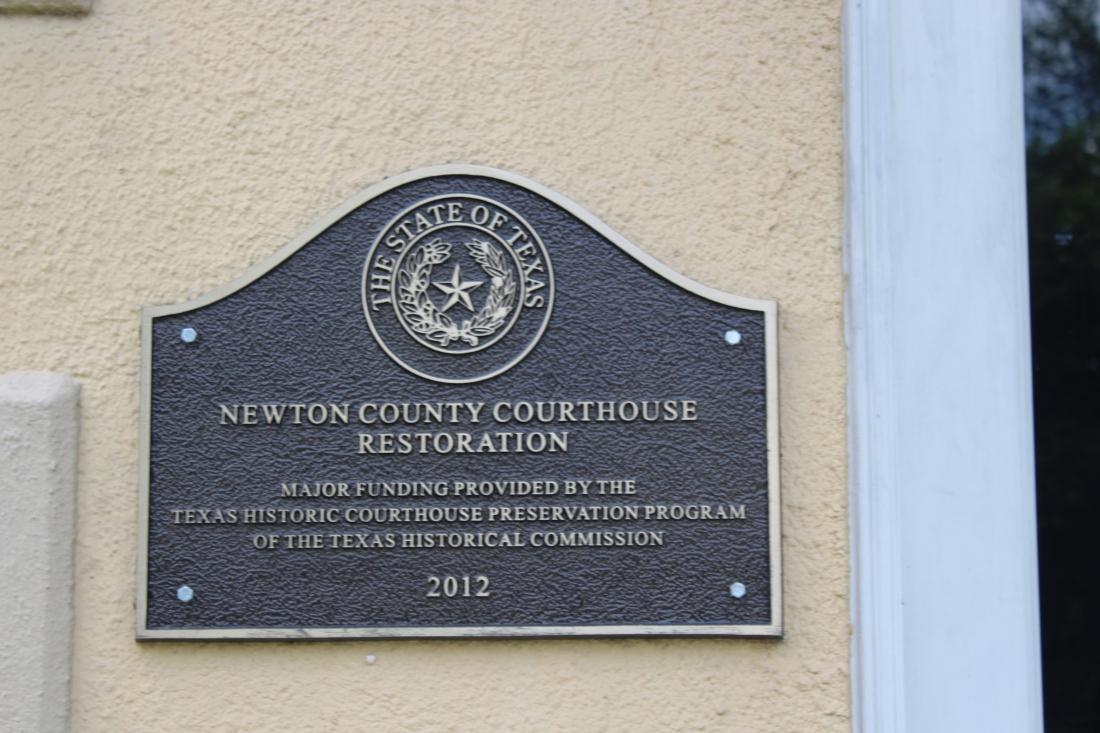 Newton Courthouse Hisstory