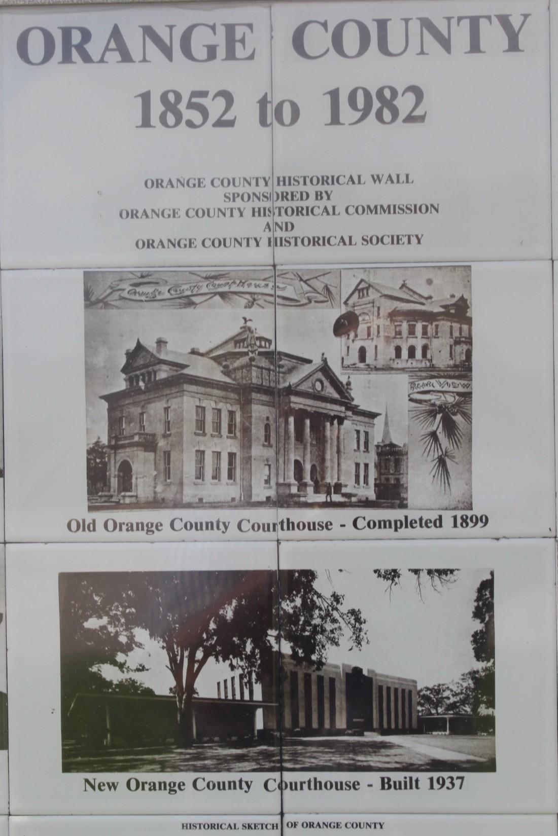 Orange county History