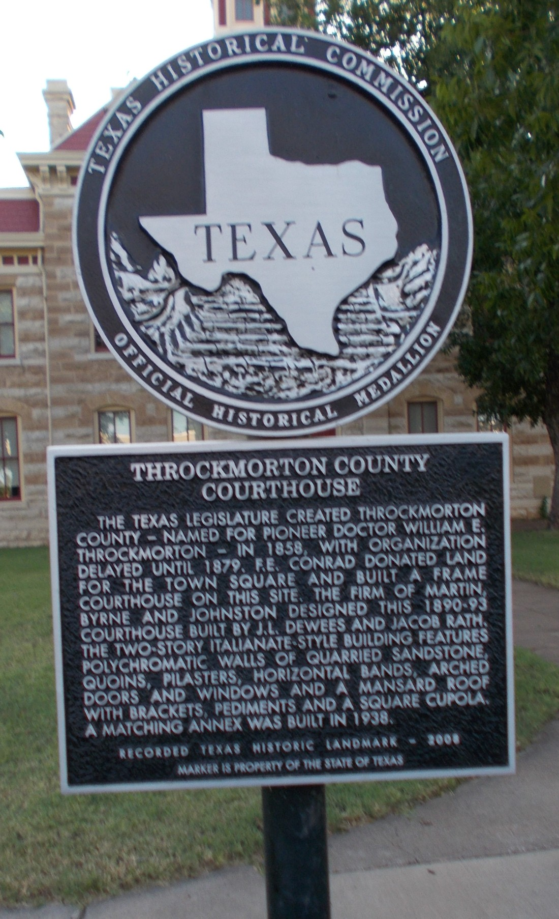 Throckmorton History
