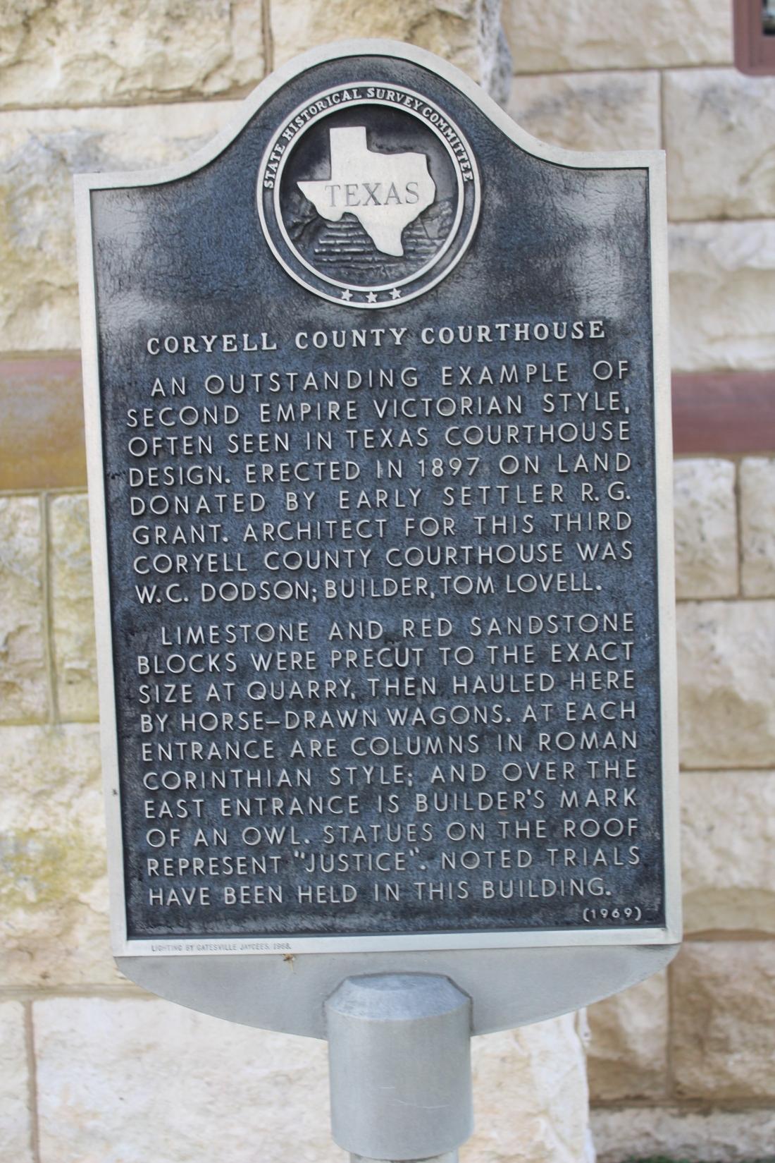 Coryell County History
