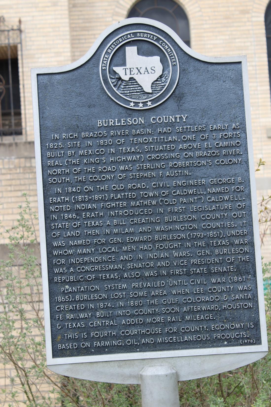 Burleson History